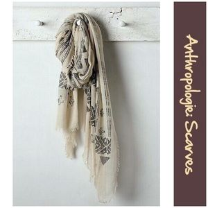 "Anthro ""Altamira Scarf"""